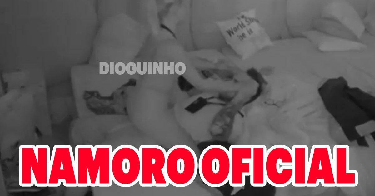 "Photo of Jorge e Sandra: Pedido de namoro oficial e trocam ""amo-te"""