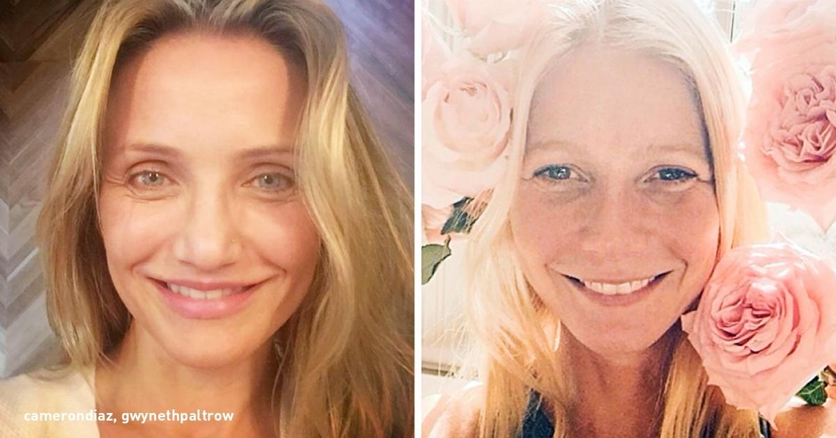Photo of 12 famosos que publicaram fotos sem make-up