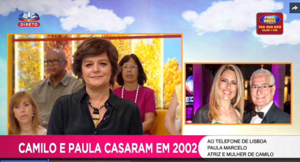 Photo of Paula Marcelo reage publicamente à morte do marido Camilo de Oliveira
