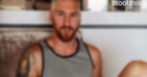 Messi muda de visual