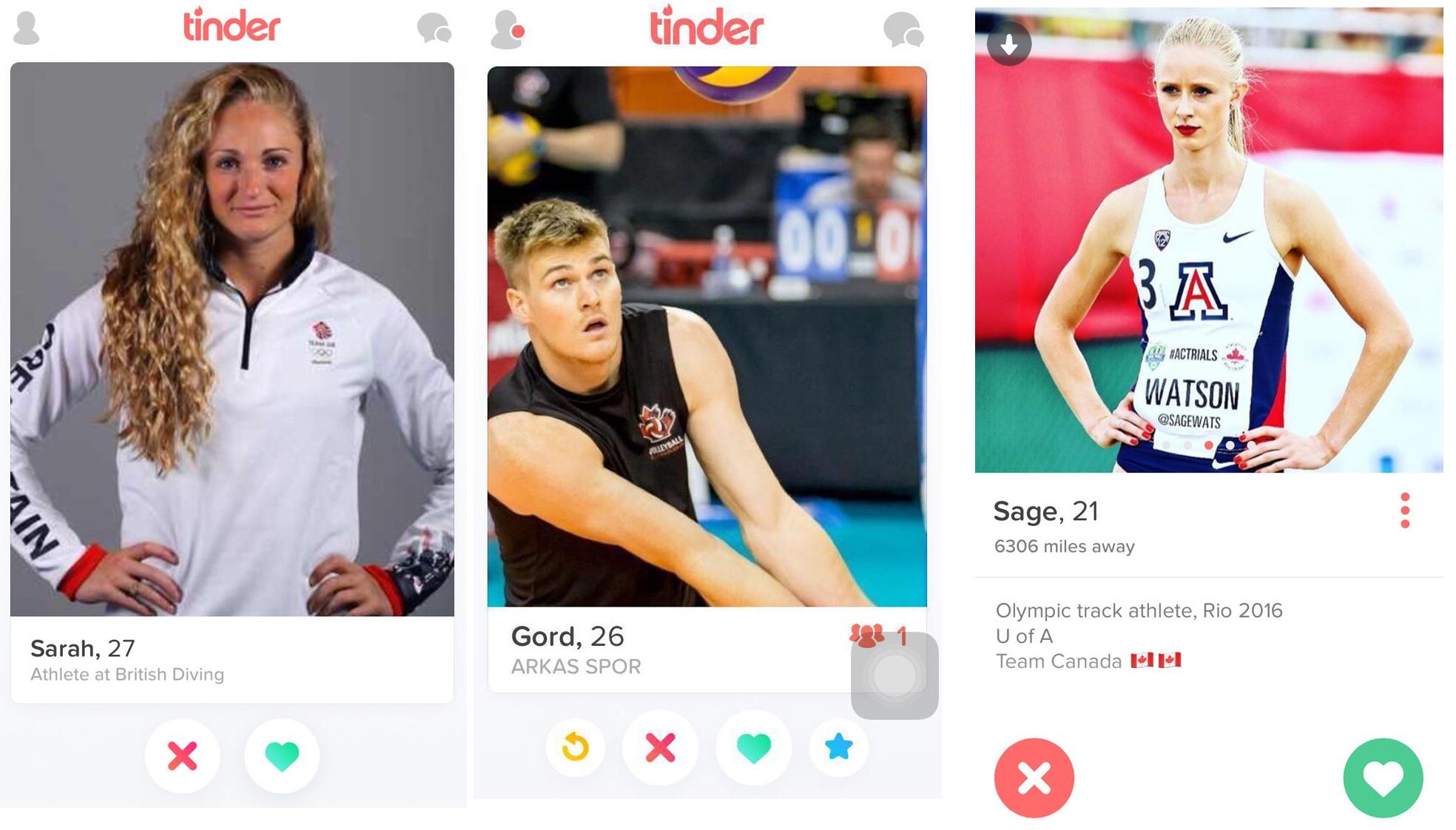 Photo of Atletas olímpicos divertem-se no campo… e no Tinder