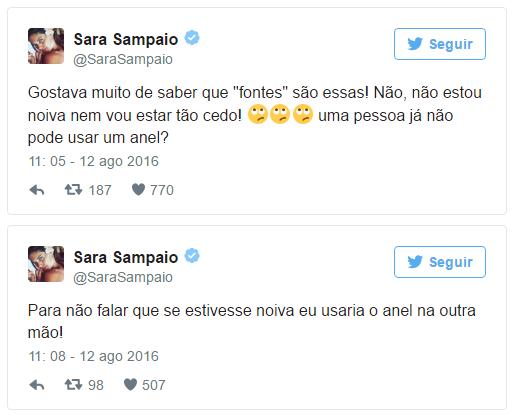Sara Sampaio noiva