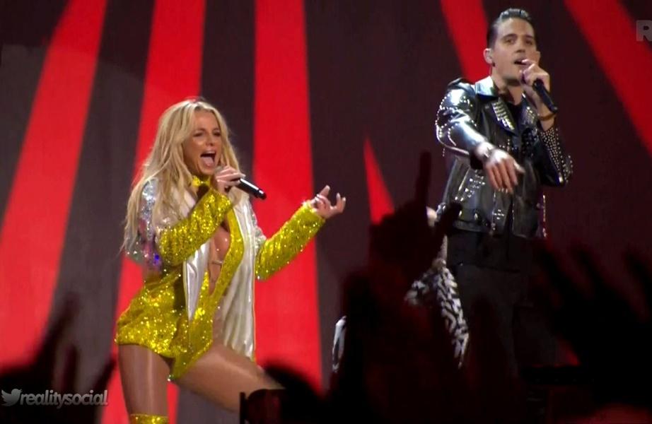 Photo of Britney Spears actua nos VMA 9 anos depois em grande