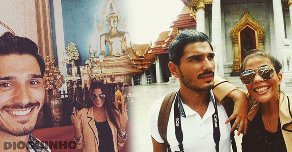 Photo of Hully e Filipe Vilarinho já estão em Bangkok e partilham fotografias