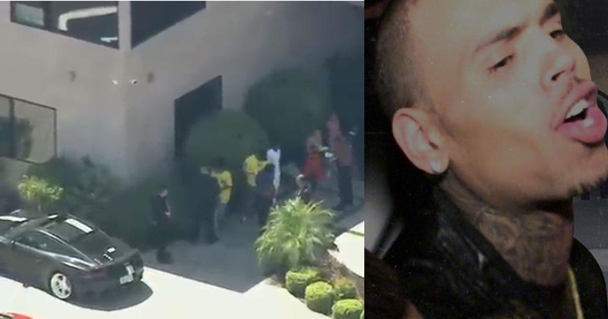 Photo of Chris Brown foi libertado após pagar fiança
