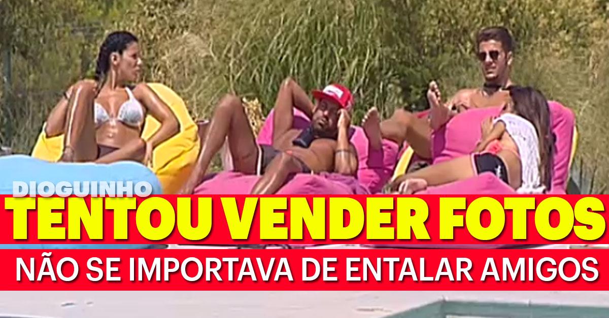 Photo of Andreia Machado tentou vender vídeos e fotos mesmo queimando amigos