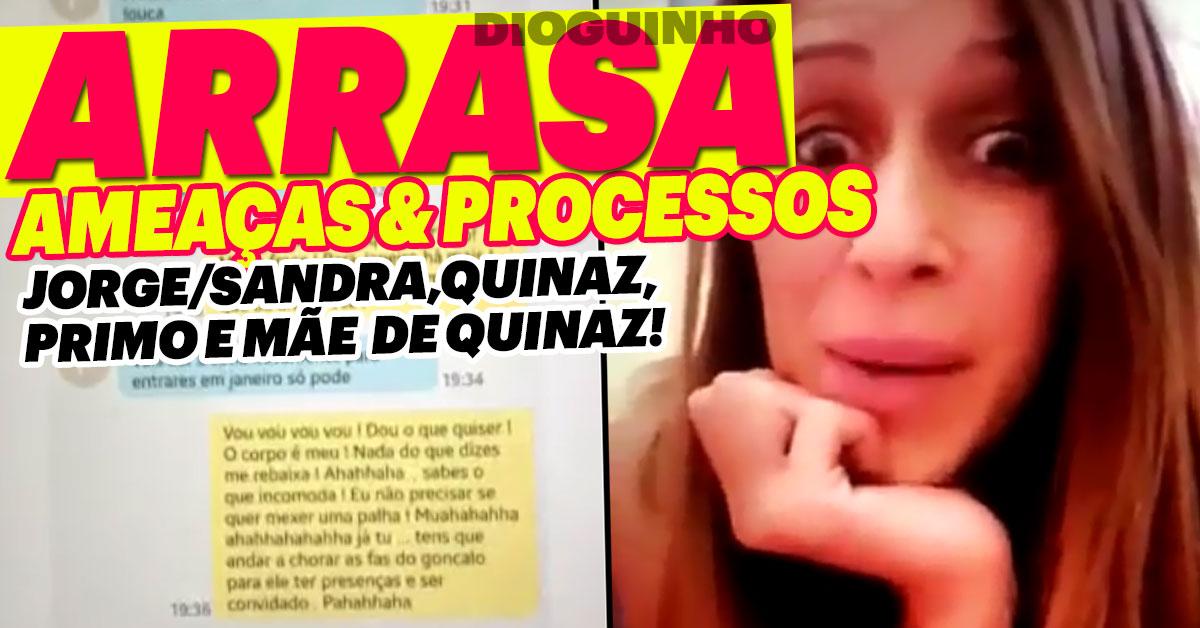 Photo of Érica Silva ataca e ameaça processar Gonçalo Quinaz e mais alguns
