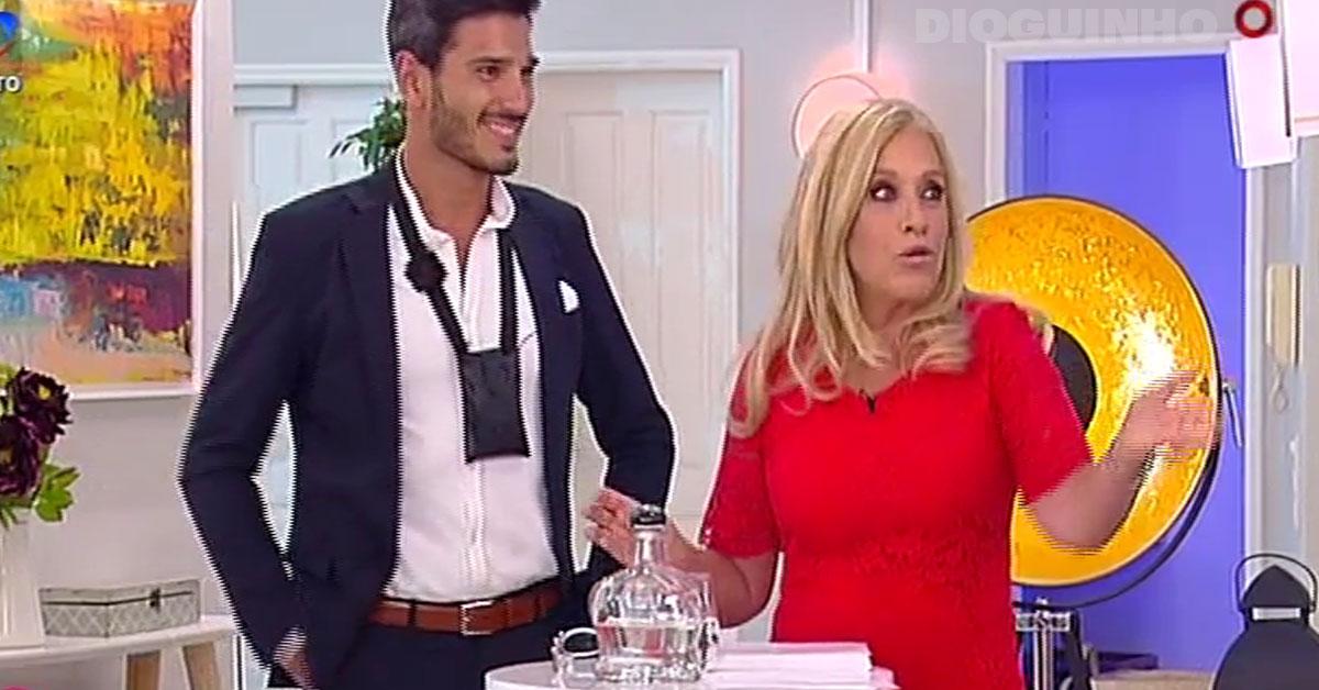 """Photo of Filipe Vilarinho entra no Love on Top 3 e Andreia Silva fica """"sem jeito"""""""