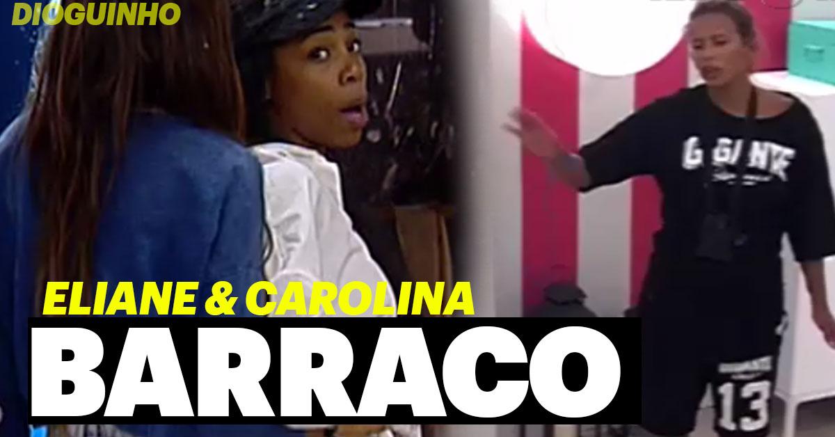 Photo of Discussão entre Lia e Carolina. Gritos e ameaças