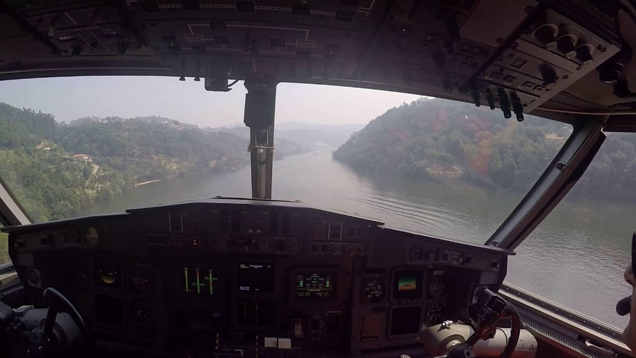 Photo of Vídeo mostra avião a abastecer-se em pleno Rio Douro