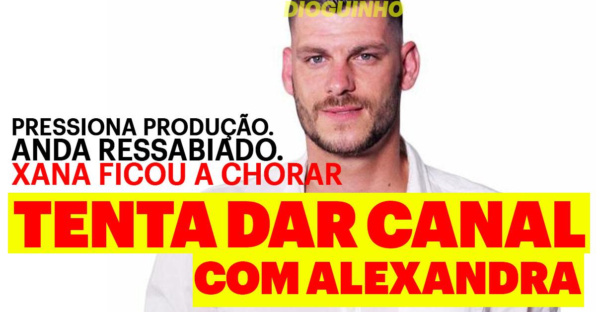 Photo of Alexandra Rocha fica a chorar em date com Fábio