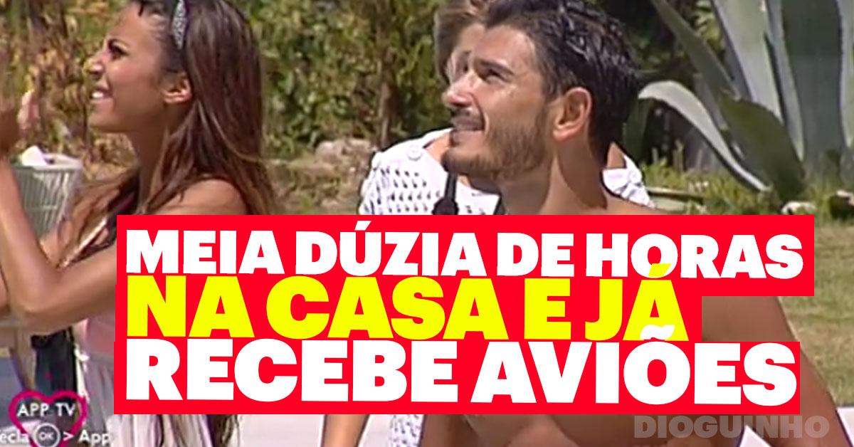 Photo of Filipe Vilarinho já recebe aviões Love on Top 3
