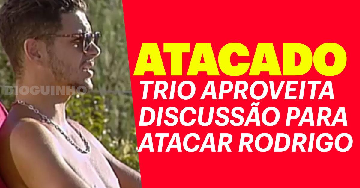 Photo of Eliane, Narcisa e Fábio aproveitam discussão para atacar Rodrigo