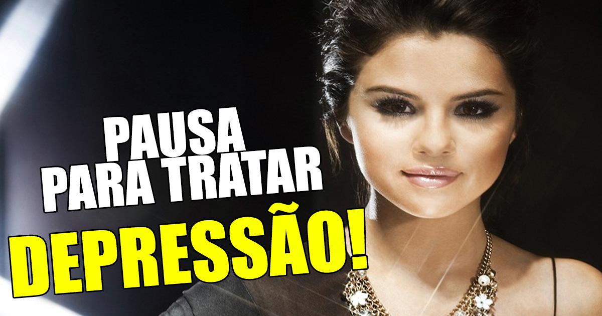 Photo of Selena Gomez está com uma depressão e já não vem a Portugal