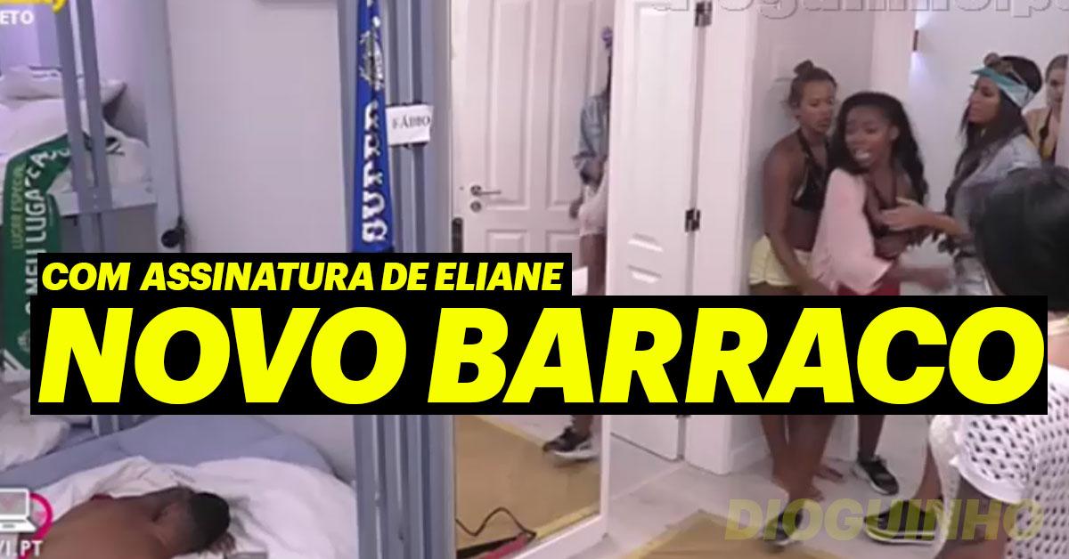 Photo of Eliane e Fábio: deu barraco. Ameaças e gritos