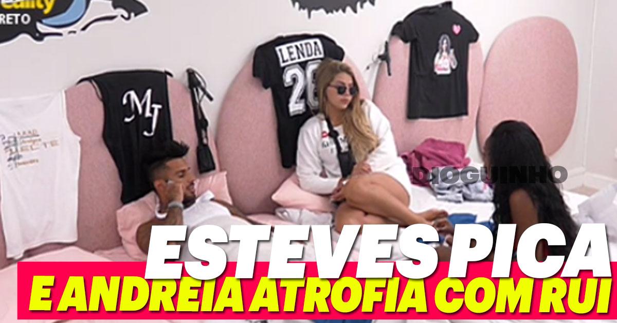 Photo of Bruno Esteves «pica» e Andreia Silva atrofia com Rui