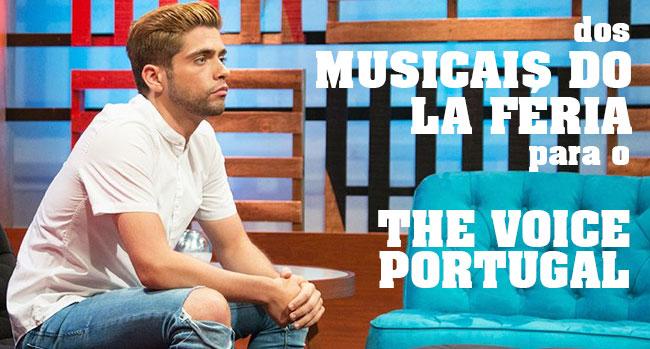 Photo of Daniel Galvão dos musicais para o The Voice Portugal