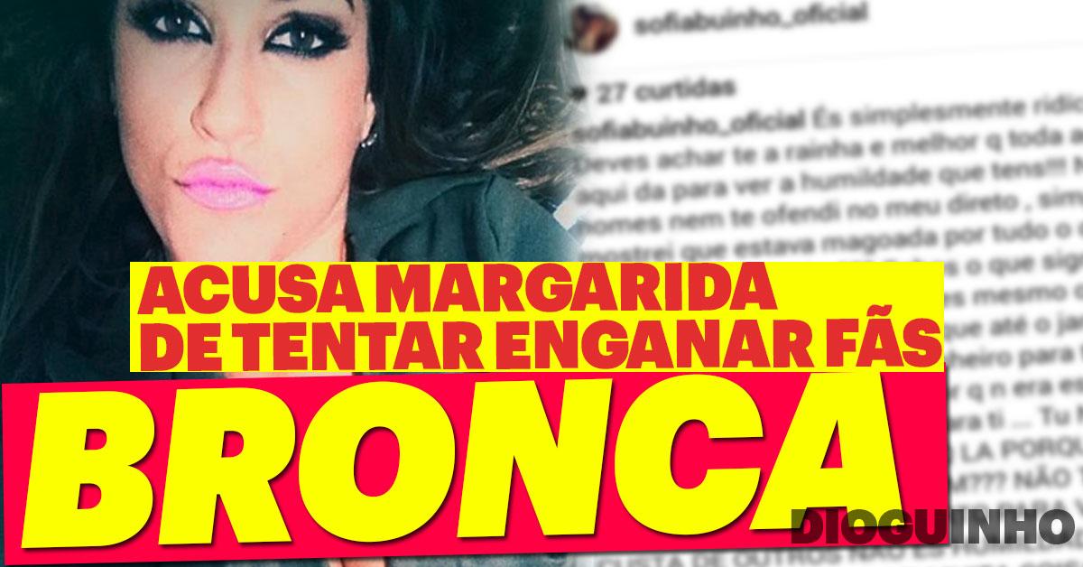 """Photo of Sofia Buinho ARRASA Margarida Aranha """"Não tens onde cair morta"""""""