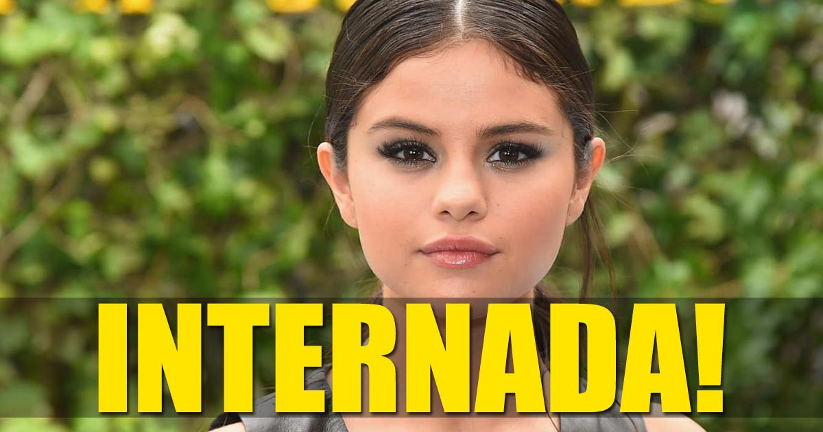 Photo of Selena Gomez está internada em clínica de reabilitação