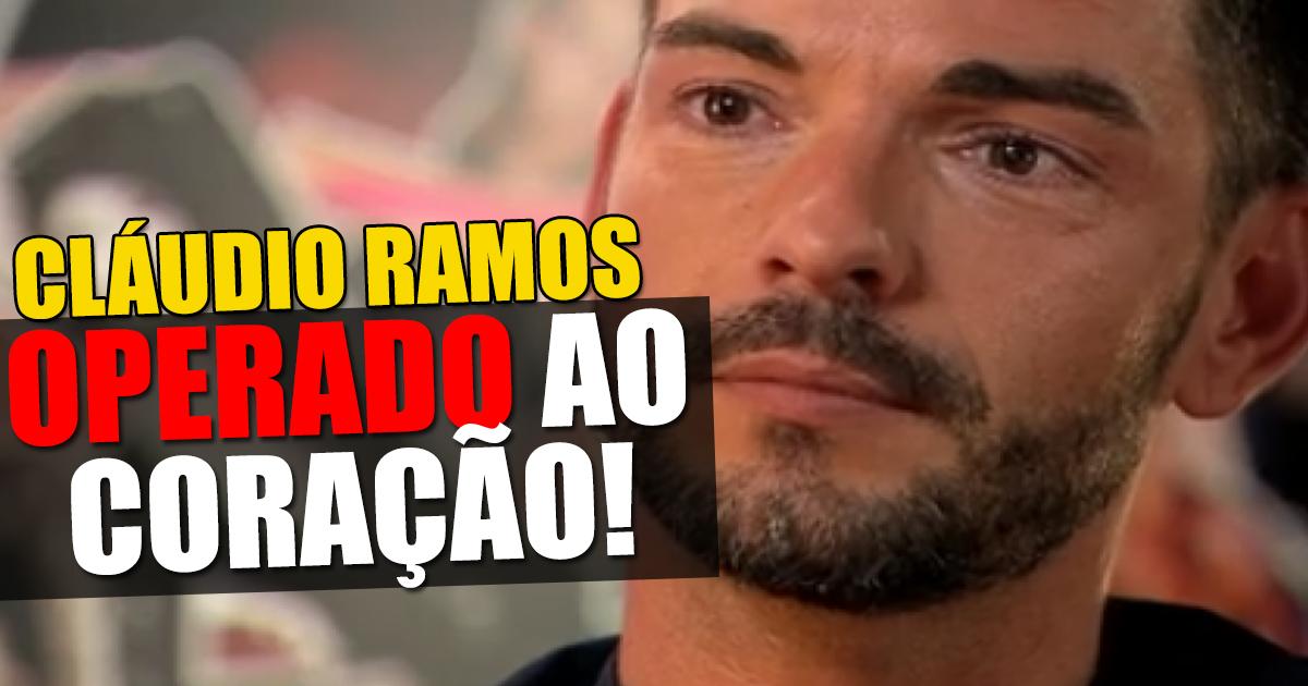 Photo of Cláudio Ramos vai ser operado ao coração