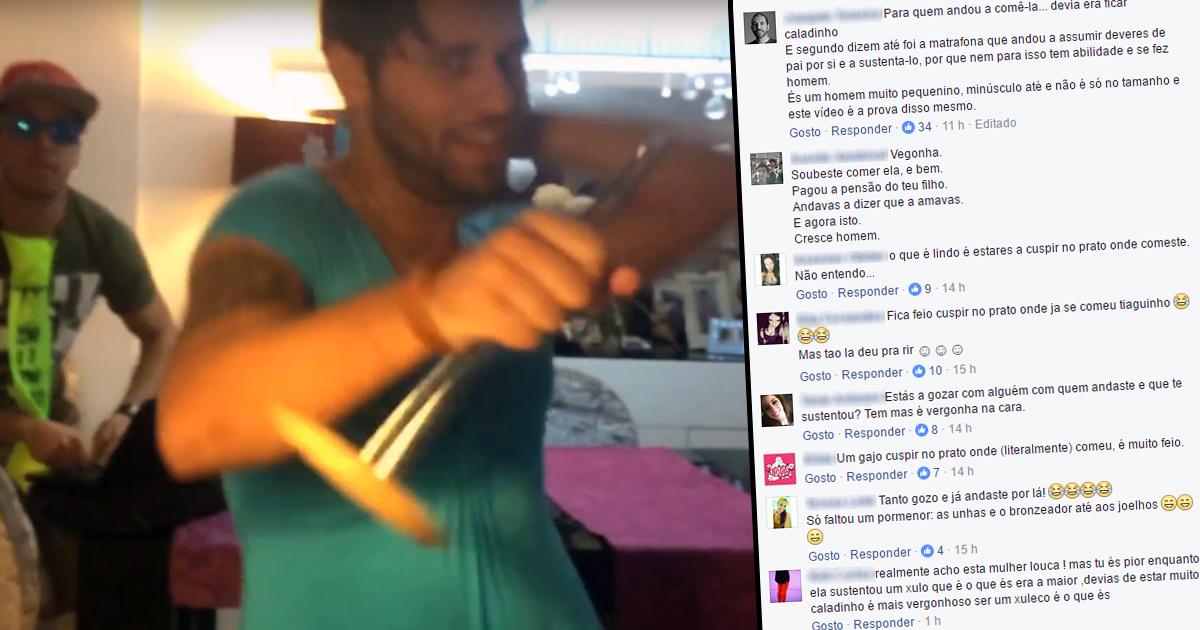 """Photo of Tiago Ginga criticado """"ela pagou a pensão de alimentos do teu filho"""""""