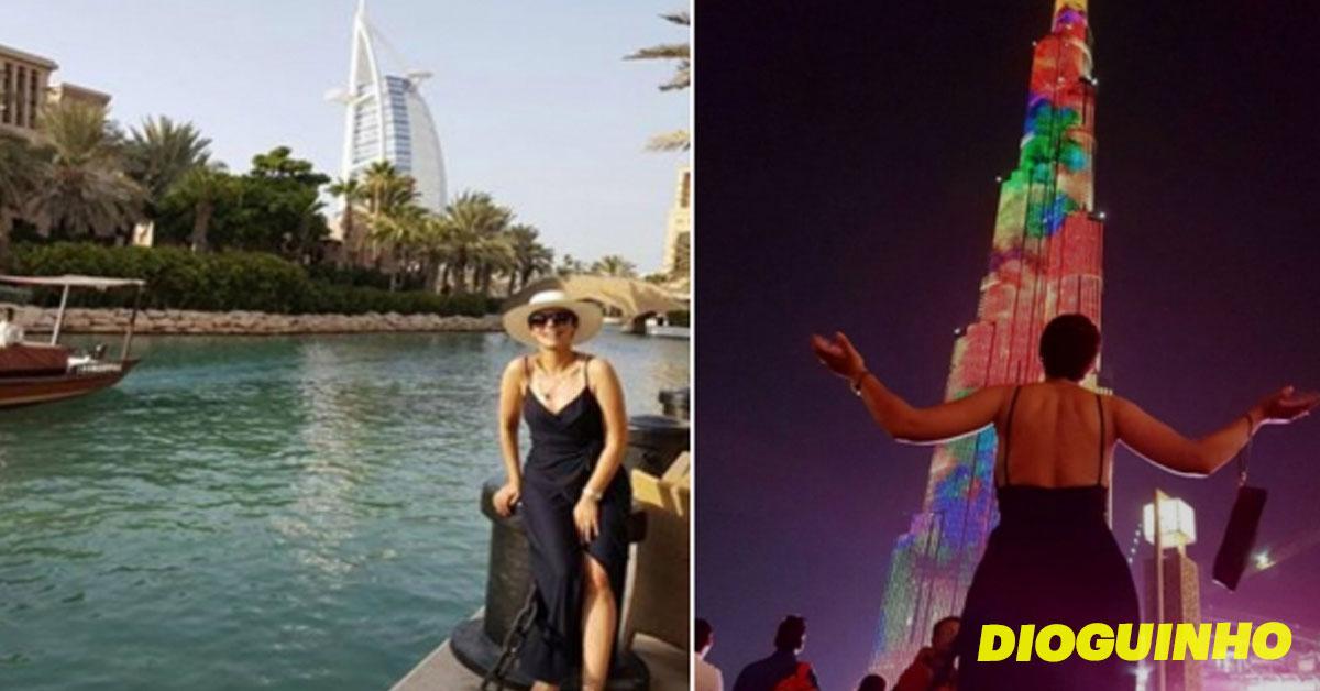 Photo of Sofia Ribeiro celebra 32 anos no Dubai