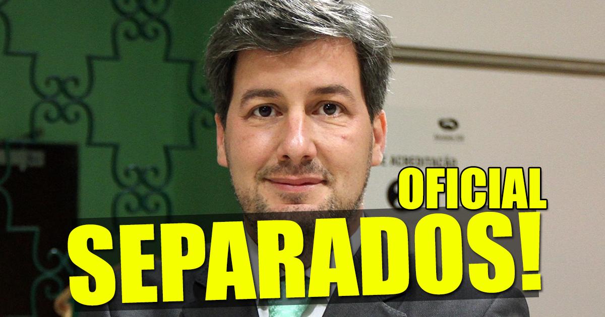 """Photo of Bruno de Carvalho confirma separação """"É um momento difícil"""""""