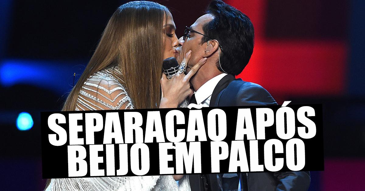 Photo of Ex-marido de Jennifer Lopez separa-se após beijo em palco