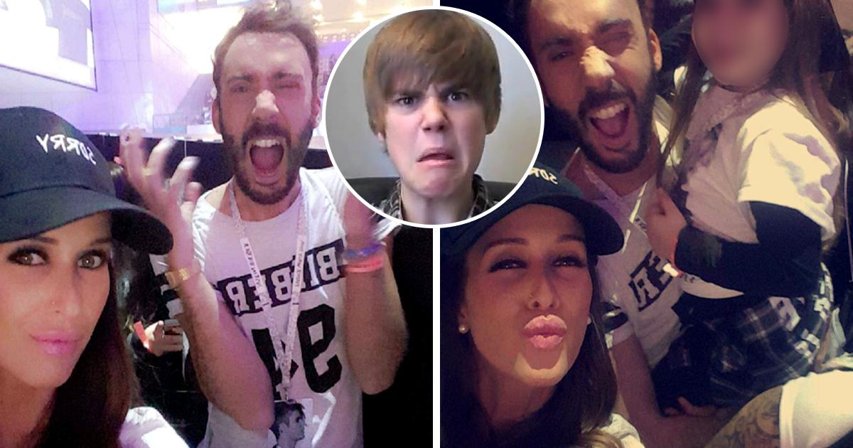 Photo of Érica Silva e Pedro Capitão foram juntos ver o Justin Bieber