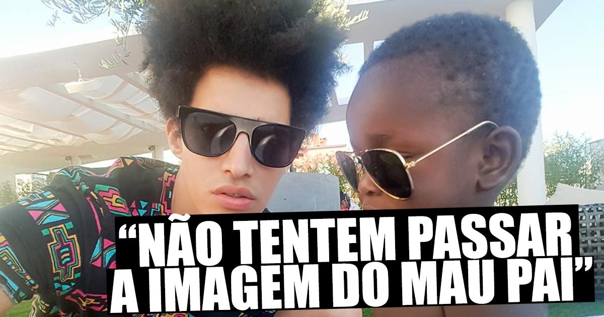 """Photo of Luís Borges revoltado com jornalista """"Não tentem passar a imagem do mau pai"""""""