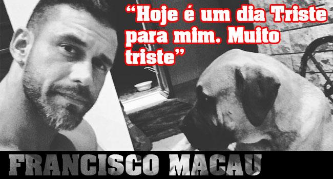 """Photo of Francisco Macau já sabe o que aconteceu a Noah: """"Eu amava o meu amigo. Vou continuar a amá-lo."""""""