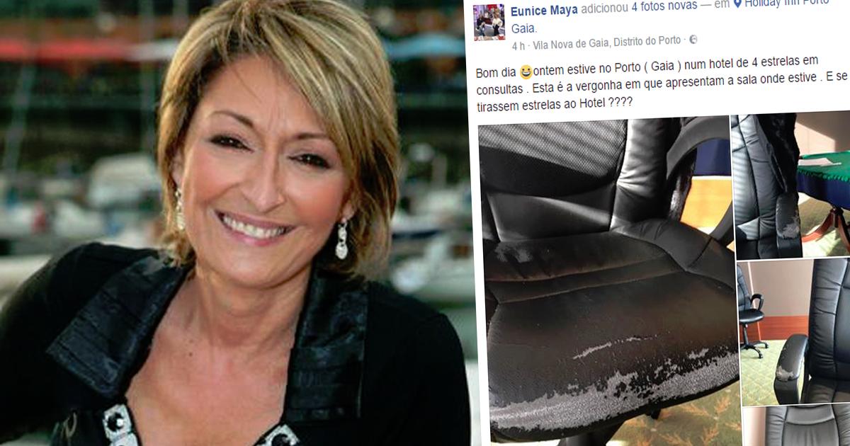 """Photo of Maya na azia com hotel do Porto """"e se tirassem estrelas ao Hotel?"""""""