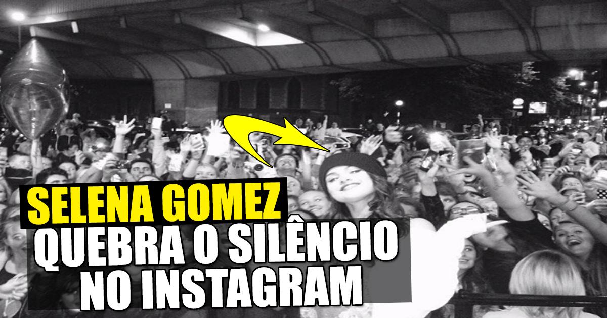 Photo of Selena Gomez volta às redes sociais com mensagem emocionada