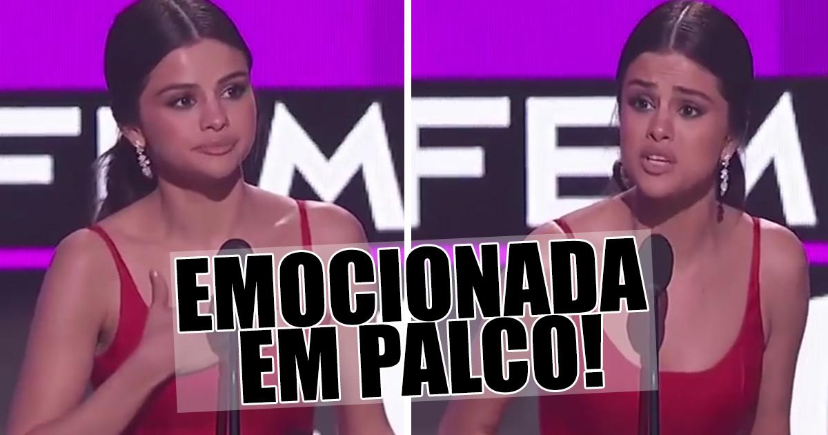 Photo of Após reabilitação, Selena Gomez faz discurso emocionante no American Music Awards