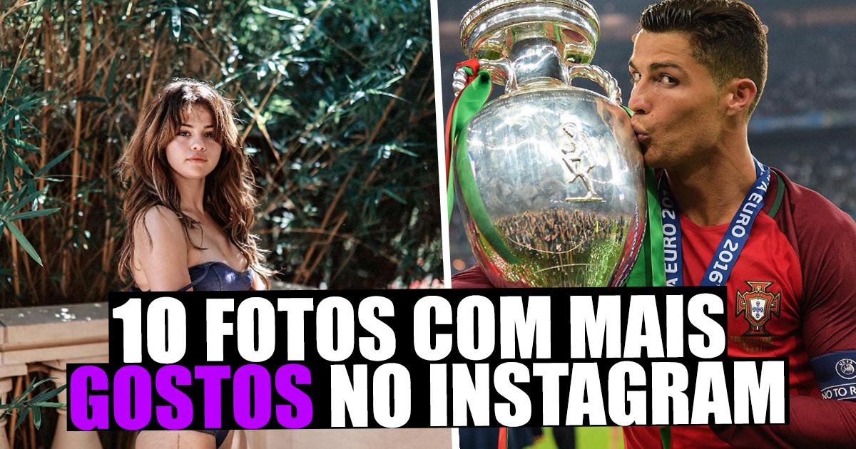 """Photo of As 10 fotos com mais """"Likes"""" no Instagram em 2016 – CR7 e Selena Gomez dominam"""