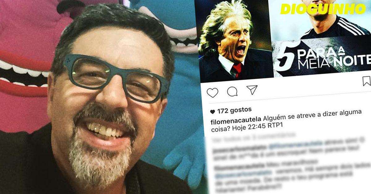 Photo of José Carlos Malato ao ataque «O sinel de m**da é um escroque»