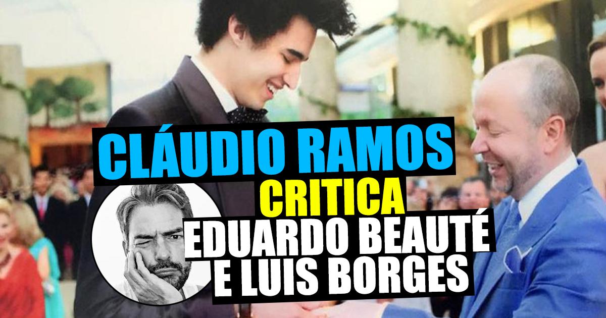 Photo of Cláudio Ramos critica Eduardo Beauté e Luís Borges