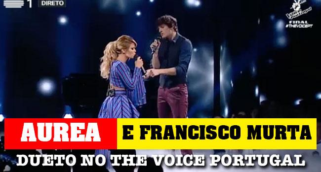 Photo of Francisco Murta e Aurea em dueto emocionante no The Voice Portugal