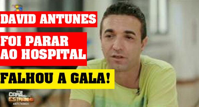 Photo of David Antunes saiu de ambulância das gravações de A Tua Cara Não Me É Estranha