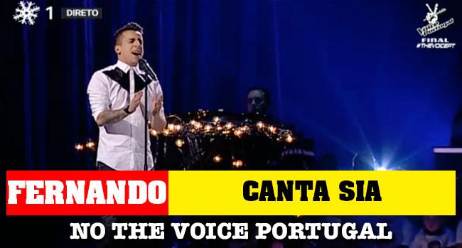 Photo of Fernando Daniel canta Sia e soma elogios no The Voice Portugal