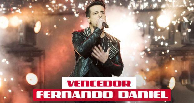 Fernando Daniel vence The Voice Portugal