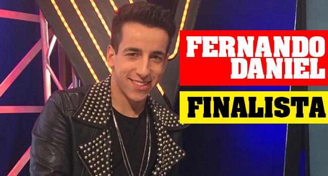 Photo of Fernando Daniel é finalista do The Voice Portugal (vídeo)