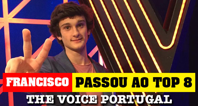 Photo of Francisco Murta no Top 8 do The Voice Portugal