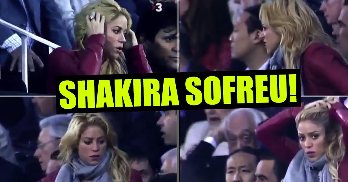 Photo of Vídeo mostra sofrimento de Shakira no Barcelona vs Real Madrid