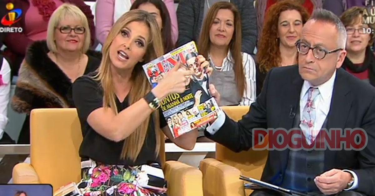 Photo of Cristina Ferreira fica novamente DANADA com a revista Nova Gente
