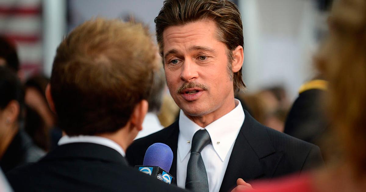 Photo of Brad Pitt reaparece em público muito mais magro e preocupa