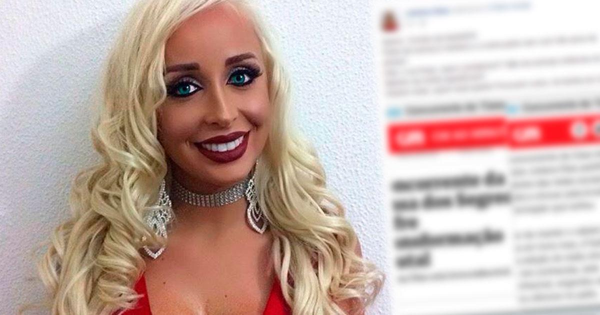 Photo of Juliana Dias indignada com jornal «Parte da notícia é mentira, outra parte vem com atraso!»