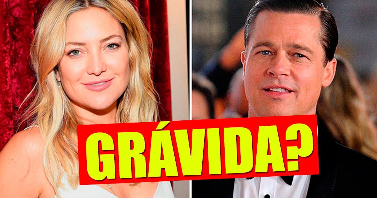 Photo of Kate Hudson está grávida de Brad Pitt?