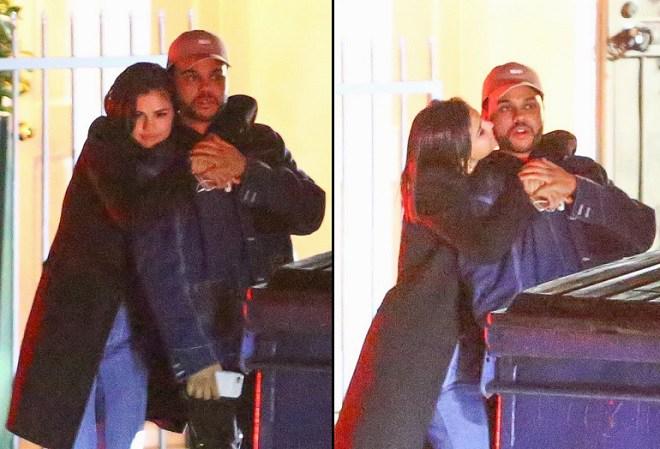 Photo of Selena Gomez e The Weeknd são fotografados aos beijos