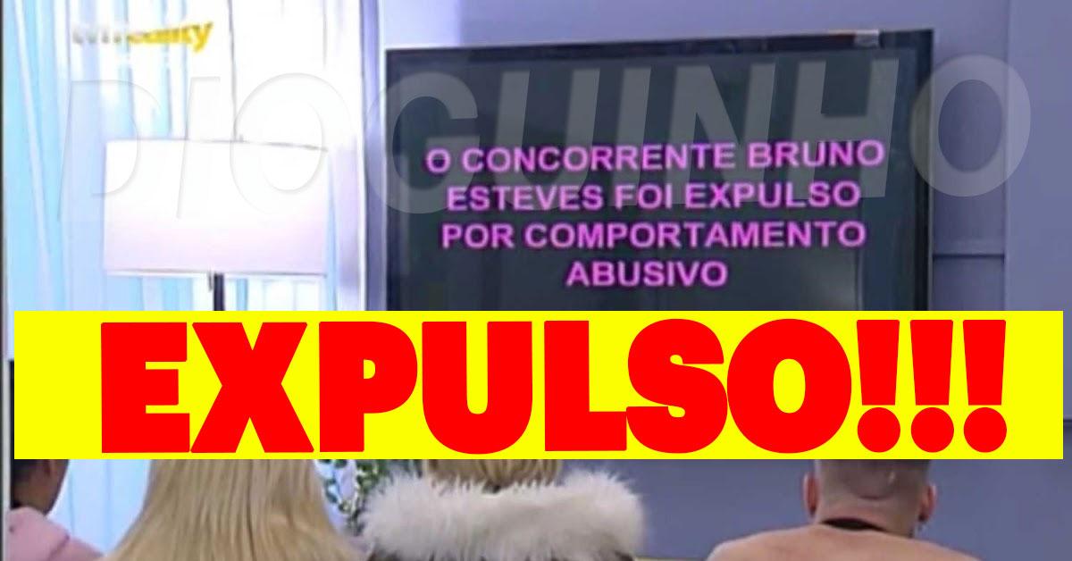 Photo of Bruno Esteves foi expulso do Love On Top 4 por comportamento abusivo